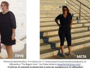 Evgenia Xristopoulou The Biggest Loser JPG